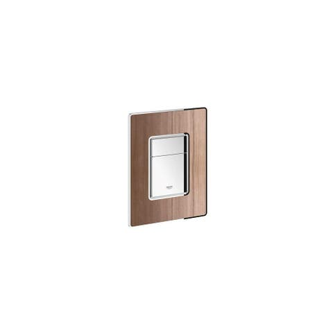 Grohe 38 849 Cosmopolitan Dual Flush Wood Actuation Plate -