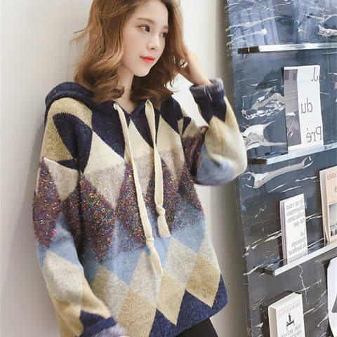 Korean Sweater Women Loose Small Fresh And Sweet