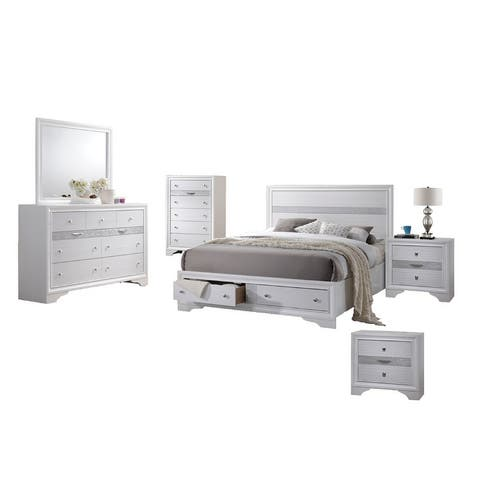 Best Quality Furniture Catherine and David 6 Piece Bedroom Set