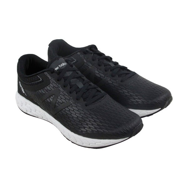 New Balance Course Mens Black Synthetic Athletic Lace Up Running Shoes