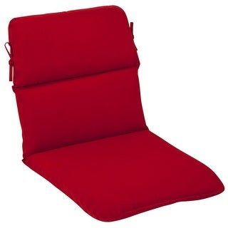 Outdoor Patio Furniture High Back Chair Cushion - Venetian Red