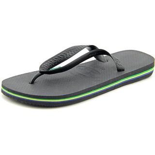 Havaianas Brasil Open Toe Synthetic Thong Sandal