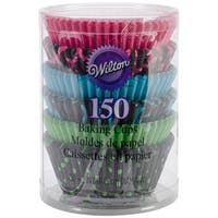Standard Baking Cups-Neon Darks 150/Pkg
