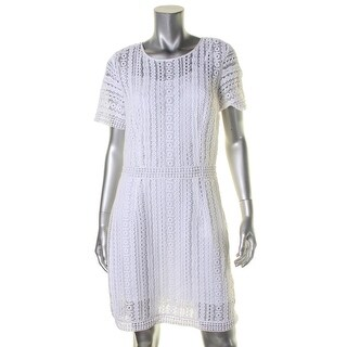 MICHAEL Michael Kors Womens Casual Dress Lace Lined