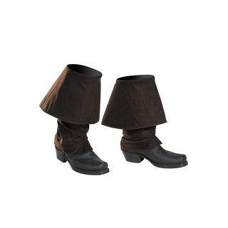 Disguise PotC5 Pirate Child Boot Covers - Black