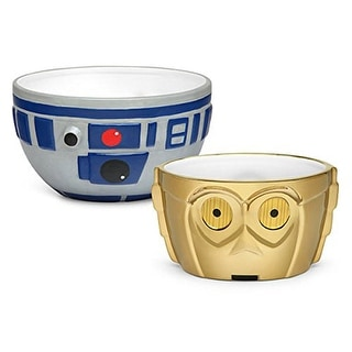 Star Wars R2-D2 & C-3PO Ceramic Bowl Set