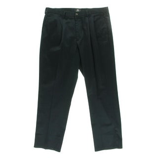 Dockers Mens Double Pleat Relaxed Fit Khaki Pants