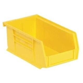 Quantum QUS220YL Yellow Polypropylene Storage Bin