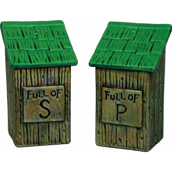 River's Edge Outhouse Salt And Pepper Shaker 530