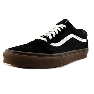 Vans old school Men  Round Toe Suede Black Sneakers