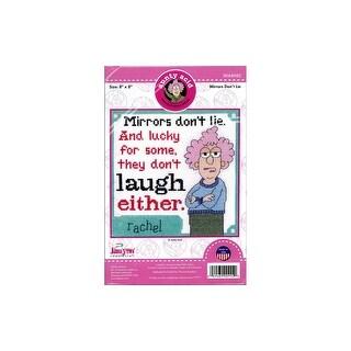 Janlynn Cross Stitch Kit Aunty Acid Mirrors/Lie