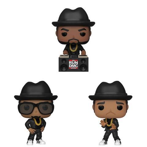 Funko POP! Rocks Run-DMC Collectors Set