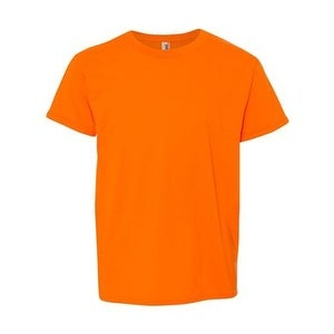 8f1d9b593 Shop Youth Lightweight Fashion T-Shirt - Neon Orange - XS - Free Shipping On  Orders Over $45 - Overstock - 16036374