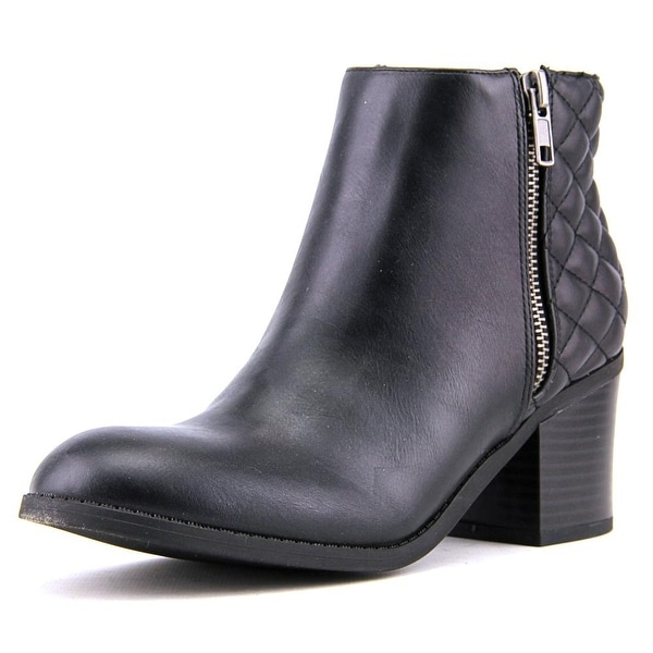 Mia Knoxx Women Round Toe Synthetic Black Ankle Boot
