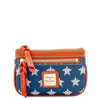 Dooney & Bourke MLB Astros Small Coin Case (Introduced by Dooney & Bourke at $58 in Jan 2016)