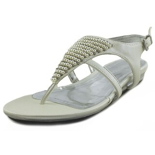 Kenneth Cole Reaction Lost Way Youth Open Toe Synthetic White Thong Sandal