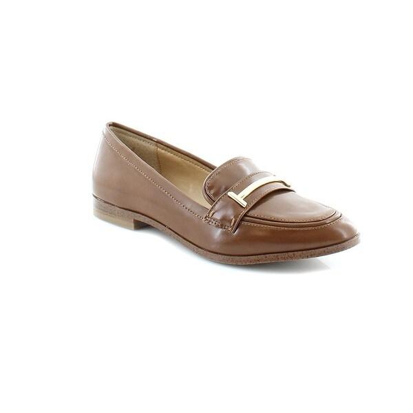 Alfani Womens Amelia / cognac Pointed Toe Casual Slide Sandals