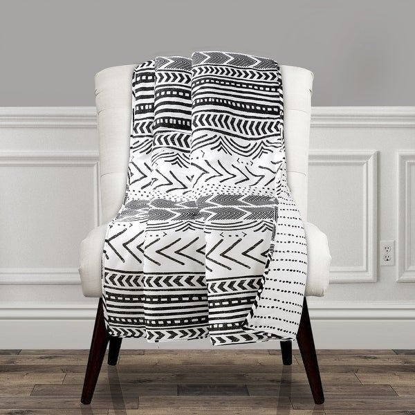 Lush Decor Hygge Geo Throw. Opens flyout.
