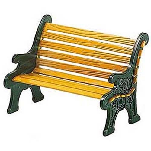 Wrought Iron Park Bench