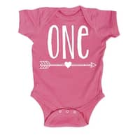 "Birthday Heart ""One"" - Infant One Piece"