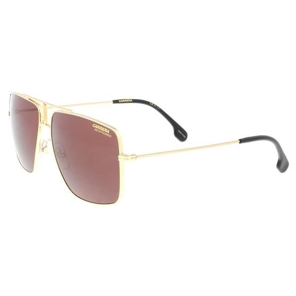 96c032da03f Shop Carrera 1006 S J5G Gold Square Sunglasses - no size - Free ...