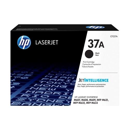 HP 37A LaserJet Toner Cartridge - Black (Single Pack) 37A High Yield Black Original LaserJet Toner C