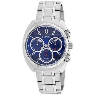 Bulova Men's Curv 96A185 Blue Dial Watch