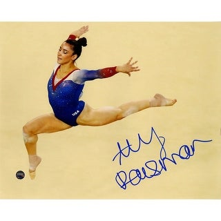 Aly Raisman Signed In Air 8x10 Photo
