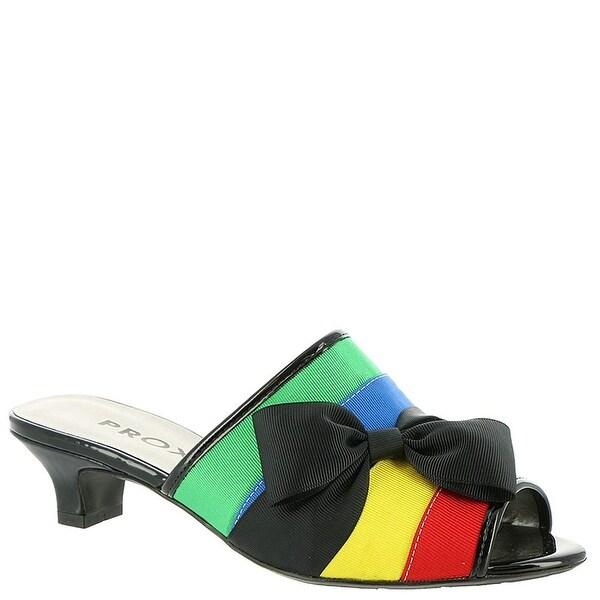 Proxy Womens Tiffney Open Toe Casual Slide Sandals