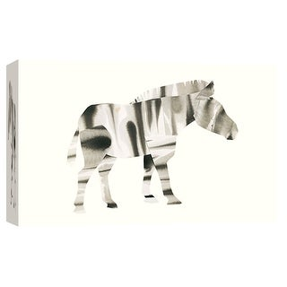 "PTM Images 9-102015  PTM Canvas Collection 8"" x 10"" - ""Zebra"" Giclee Zebras Art Print on Canvas"