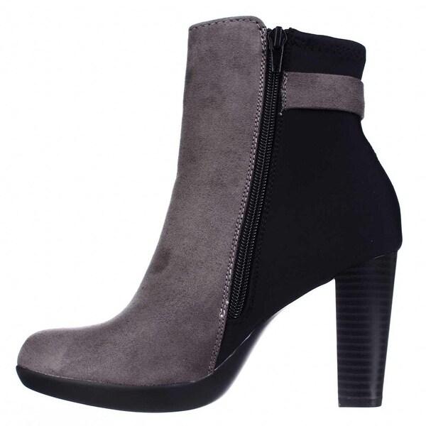 Alfani Womens Velvett Closed Toe Ankle Fashion Boots