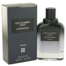 Gentlemen Only Intense by Givenchy Eau De Toilette Spray 3.3 oz - Men