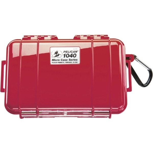 Pelican 1040-025-170 1040 Micro Case(Tm) (Red/Solid)