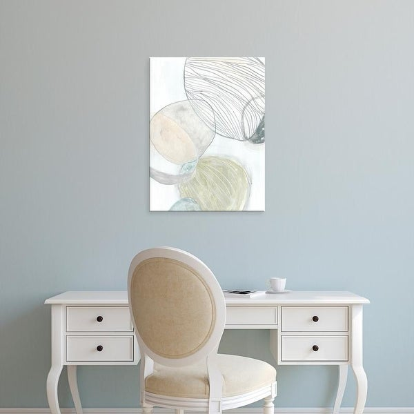 Easy Art Prints June Erica Vess's 'Sea Pebbles II' Premium Canvas Art