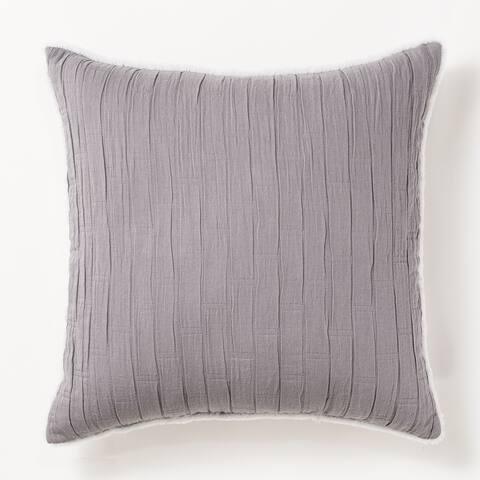 Matelassé Decorative Throw Pillow by Cozy Classics
