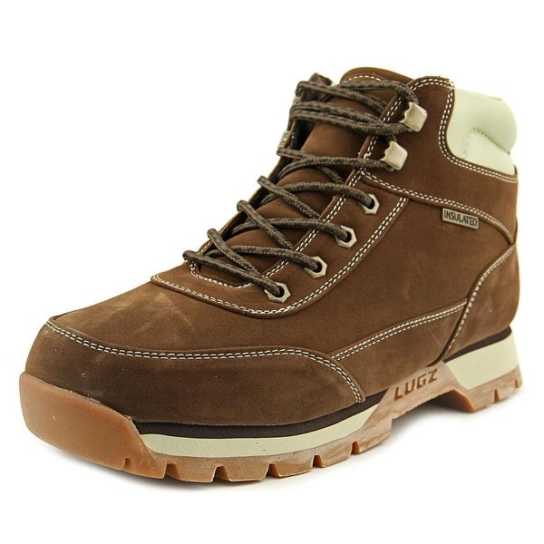 Lugz Scavenger Men  Round Toe Suede Brown Boot