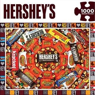 """Jigsaw Puzzle 1000 Pieces 19.25""""X26.75""""-Hershey's Swirl"""