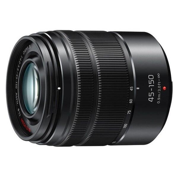 Panasonic LUMIX G Vario 45-150mm F4.0-5.6 ASPH. MEGA OIS Micro Four Thirds Lens - Black