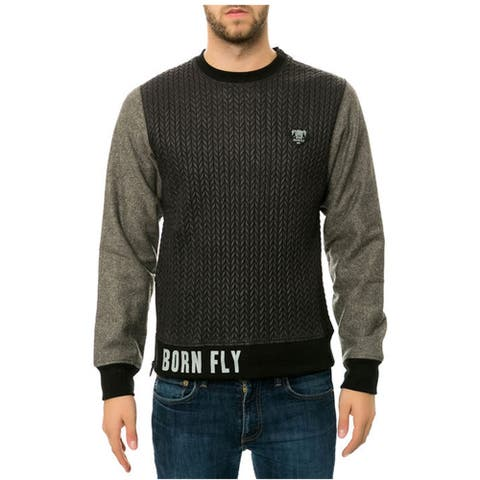 Born Fly Mens The Seven Crewneck Sweatshirt