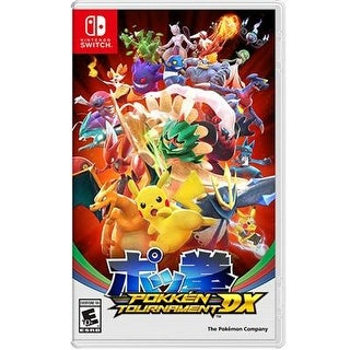 Nintendo Hacpbaaya Pokken Tournament Dx Action/Adventure Game For Switch