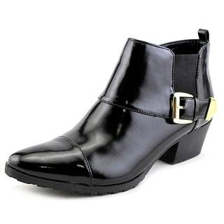 Bandolino Tasya Women Round Toe Synthetic Black Ankle Boot