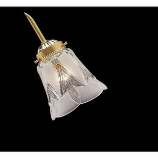 Minka Lavery 2496 Frost and Clear Glass Shade