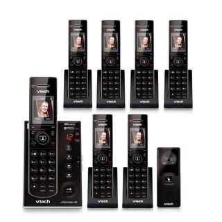 Vtech IS7121-2 + IS7101-5 Cordless Handsets w/ Audio Video Doorbell