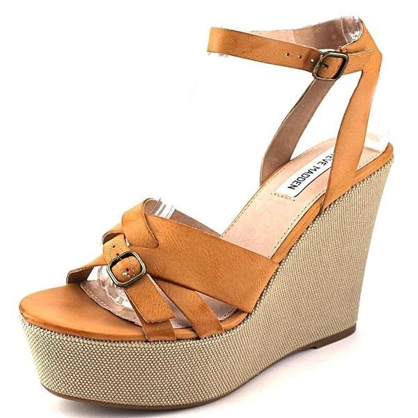 Steve Madden Womens Twizter Open Toe Special Occasion Platform Sandals