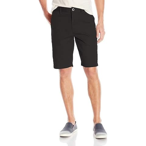 Volcom Men's Frickin Chino Short, Black, SZ: 33