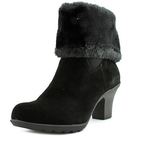 Anne Klein Womens Heward Suede Closed Toe Mid-Calf Fashion Boots
