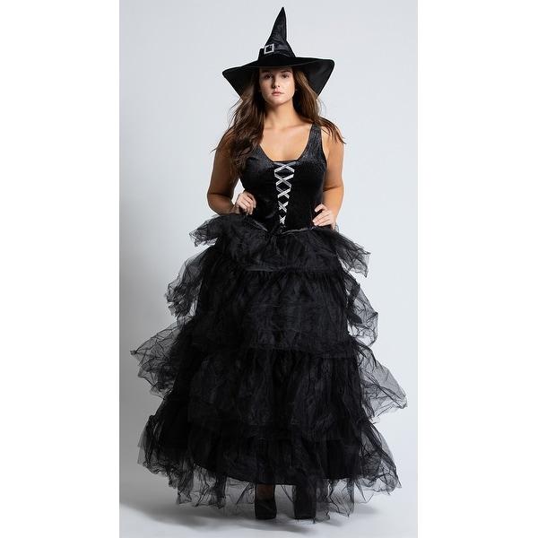 2442e471e8 Plus Size Spellbound Witch Costume, Plus Size Witch Costume