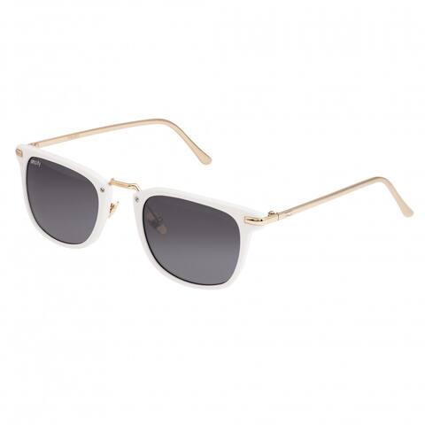 Simplify Theyer Polarized Sunglasses - White/Black - Black