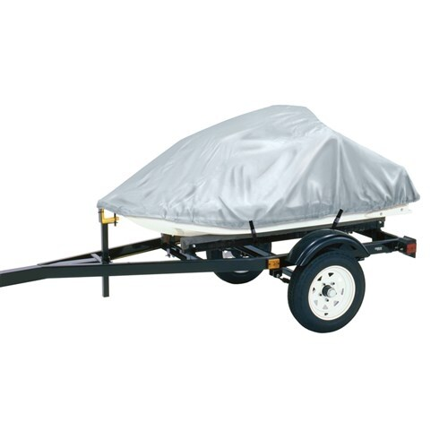 """Dallas Manufacturing Co Polyester Personal Watercraft Cover A - Silver Polyester Personal Watercraft Cover A - Silver"""