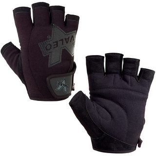 Valeo Performance Weight Lifting Gloves - Black